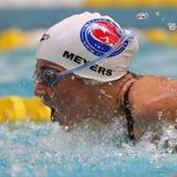"""Deaf-Blind Swimmer Becca Meyers Withdraws From Paralympics After USOPC Denies Her a """"Trusted Assistant"""""""