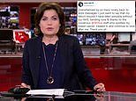 BBC newsreader Jane Hill revealed her battle with breast cancer as she returned to work today
