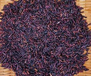 Eye-catching Purple Rice is More Nutritious: Here's How