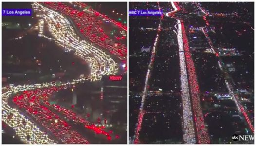 Let's All Take A Moment To Be Thankful We're Not Sitting In This Traffic