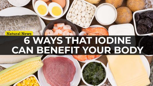 Iodine is a crucial trace mineral that's necessary for optimal health