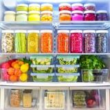 If Your Fridge Looked Like These, Wouldn't You Be Inspired to Eat Plant Based?
