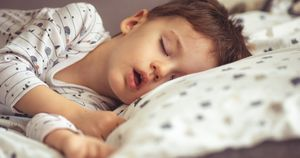 Pediatric obstructive sleep apnea linked to hypertension later in life