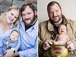New dad celebrates first father's day after a brain tumor left him infertile