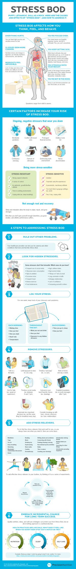 Level 1: Do you have a Stress Bod? The surprising science of feeling awful-and what to do about it