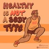"""""""Healthy Is Not a Body Type"""": This Body-Positive Artist Is Breaking Down Stereotypes"""
