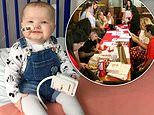 One-year-old with leukaemia inspires 600 people to get swabbed to find her a stem cell donor