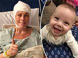 Pregnant mother who was diagnosed with a brain tumor at 17 weeks delayed treatment