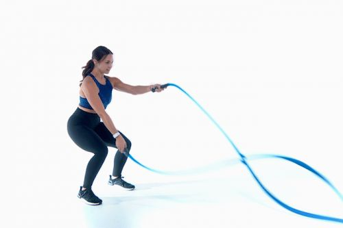 This 4-Move Battle Rope Workout is Perfect for Beginners