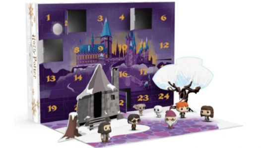 There's A Harry Potter Advent Calendar With 24 Mini Figurines