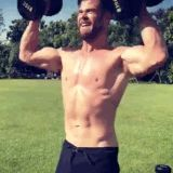 Chris Hemsworth Posted a Shirtless Workout Because He Wants Me to Combust, Apparently