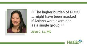 PCOS, diabetes risks among Asian women vary by ethnic subgroup