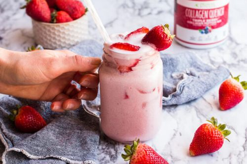 Sugar-free Strawberry Pink Drink
