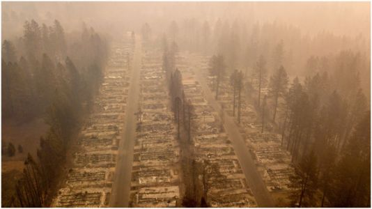 Devastating Photos Show Entire Neighborhoods Burned To The Ground In California