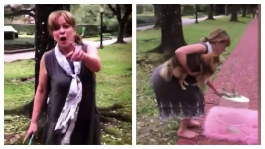 Aggressive Rich Lady Ruins Baby's 1st Photo Shoot In Viral Video