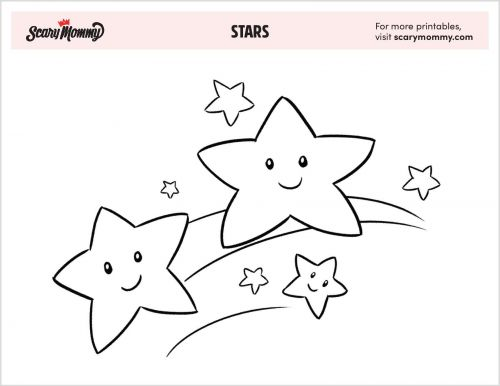 10 Supremely Celestial Star Coloring Pages