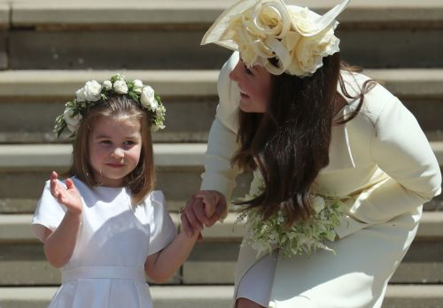 Little Charlotte Stole The Show At The Royal Wedding