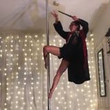 If Hustlers Met Hogwarts, the Yule Ball Would Probably Include This Pole Dance Routine