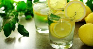 Lemon Water Beverage Is Good For You