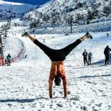 It's Cold Outside, but These Shirtless Men Doing Yoga in the Snow Are Making Me Sweat