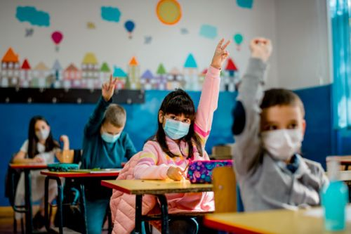 The Mask Mandate Was Lifted In U.K. Schools Last Month--Here's What Is Happening