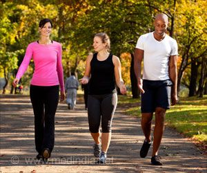 Faster Walking Benefits Heart Patients
