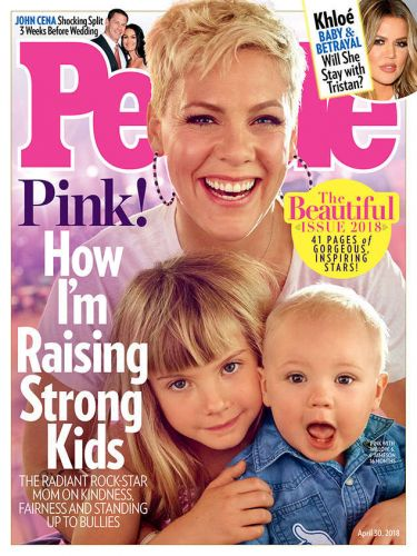 Beautiful Pink And Her Beautiful Babies Cover 'People's' Beautiful Issue