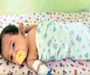Broken Needle Struck in Baby's Thigh During Vaccination