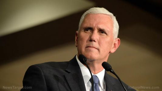 Turncoat Mike Pence issues lip service against Joe Biden. after helping install him into office