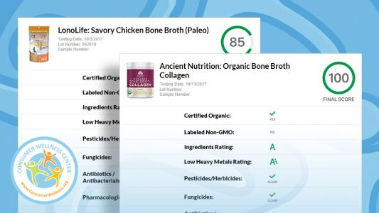 LAUNCHING: See the new lab test results format for supplements, superfoods and fast food