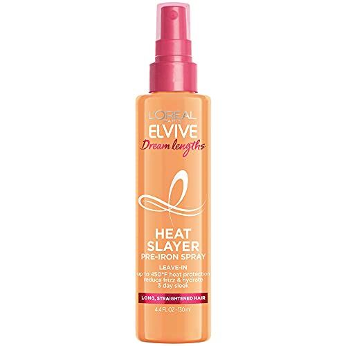 L'Oreal's Heat Slayer Is A $6 Miracle If You Blow-Dry, Flat-Iron, Or Curl Your Hair