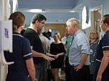 Boris Johnson is confronted by angry parent on hospital visit