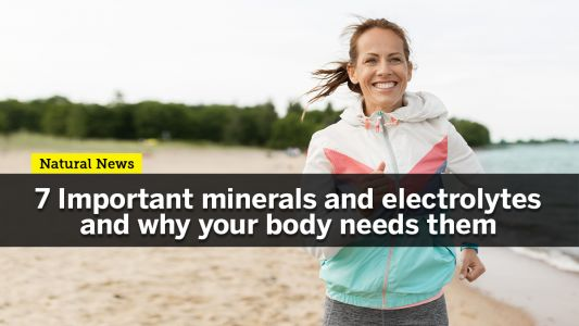 Staying hydrated is not enough: Here's why you should infuse your drinking water with minerals and electrolytes