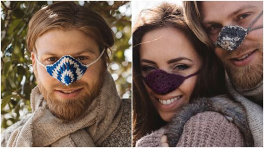 You Can Get A Nose Warmer Now And TBH It's Genius