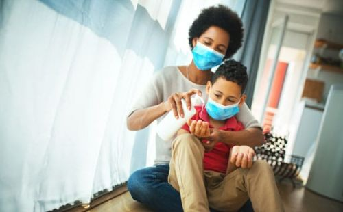 Black Moms Are Parenting Through Two Public Health Crises Right Now