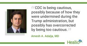 Q&A: CDC mask guidance 'still too cautious and too complicated'