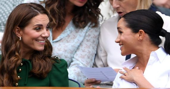 No One Is Having A Better Time Than Meghan And Kate At Wimbledon