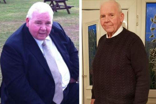 Pensioner sheds nearly 12st and 'cures' himself of diabetes in the process