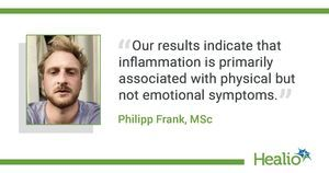Systemic inflammation linked to symptom-specific depression effects