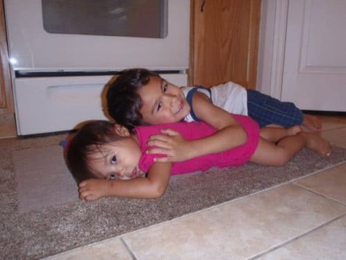 Shout Out To The Big Kids Who Love On Their Younger Siblings