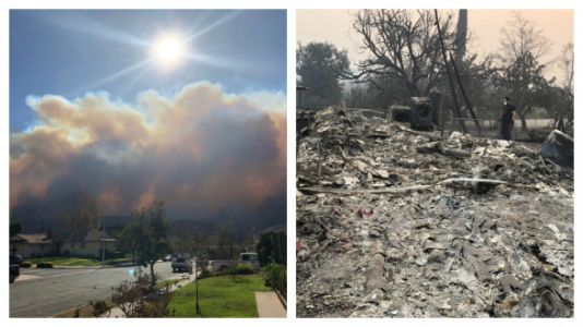 We Lost Everything In The Thomas Fire, But This Is How I'm Moving On