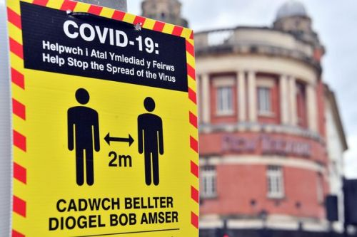 Wales records no new Covid-19 deaths and just 48 positive cases