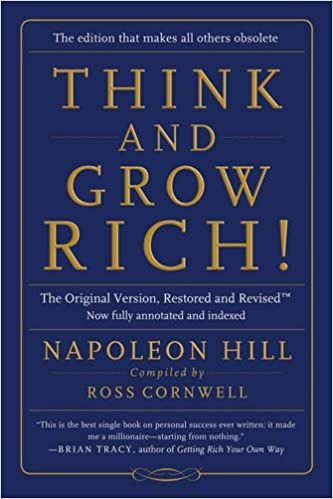 Success Tips - Think and Grow Rich: Set Your Mind Up for Success