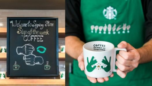 Every Employee At This New Starbucks Store Knows American Sign Language