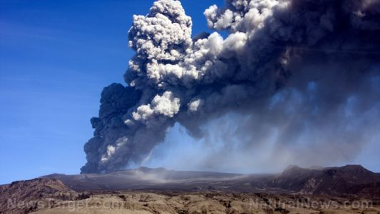 Volcanic ash can stay in the air for months - or longer