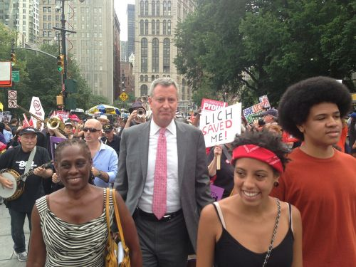 Bill de Blasio says all NYC government workers must get vaccinated with experimental covid jabs or lose their jobs
