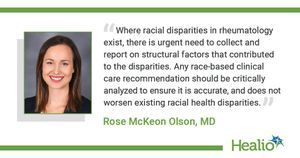 Lack of clarity in ACR, EULAR guidelines show 'urgent need' for standardized race reporting