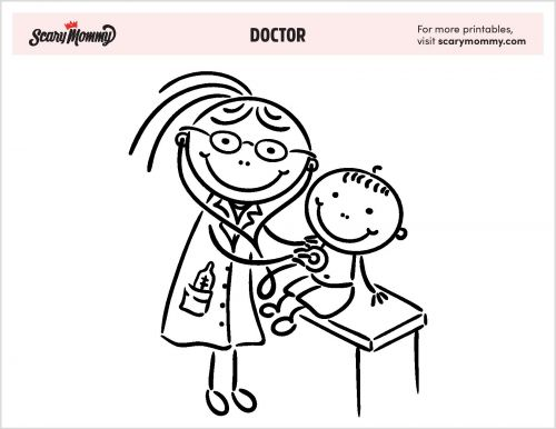 Paging Creativity! 11 Doctor Coloring Pages To Print Out Stat
