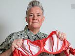 Woman, 51, with 34GG breasts claims tight-fitting underwire bras left her with hole in her chest
