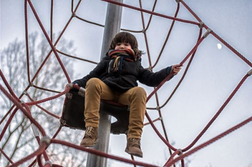 We Had A Scary Experience At The Playground Because Of My Son's Scarf